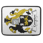 Compton Family Crest Sleeve For MacBook Pro