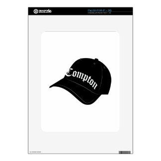 Compton Hat iPad Skin