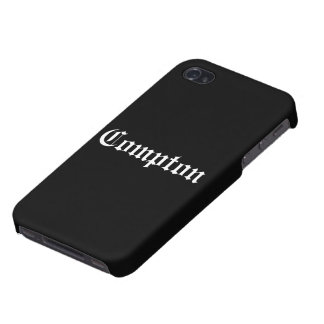 Compton iPhone Case iPhone 4 Cover