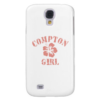 Compton Pink Girl Galaxy S4 Covers