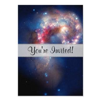 Compuesto colorido de las galaxias de las antenas anuncios personalizados