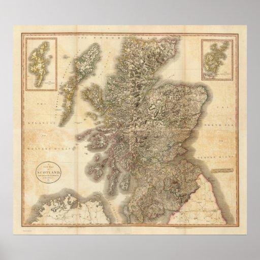 Compuesto de Escocia Póster