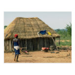 Compuesto de familia rural, Kunene, Angola Postal