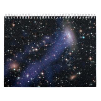 Compuesto de Hubble-Chandra de ESO137-001 Calendario