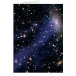 Compuesto de Hubble-Chandra de ESO137-001 Tarjeta De Felicitación