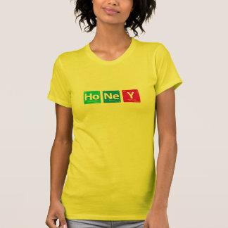 Compuesto de la miel camisetas