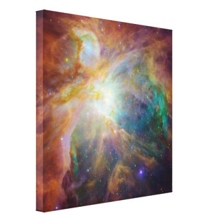 Compuesto de la nebulosa de Orión Impresión En Lienzo