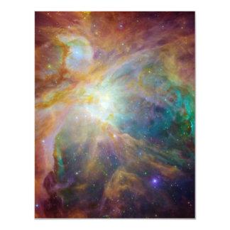 """Compuesto de la nebulosa de Orión Invitación 4.25"""" X 5.5"""""""
