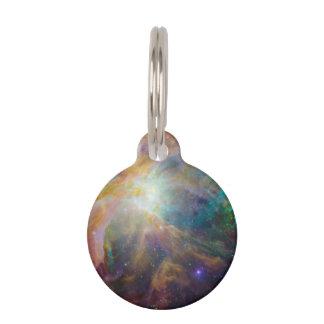 Compuesto de la nebulosa de Orión Placas Para Mascotas