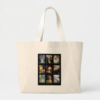 Compuesto famoso del dogo francés del arte bolsas