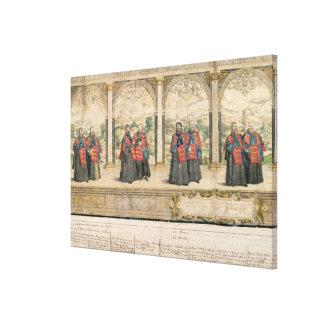 Compuesto imaginario impresión en lienzo estirada