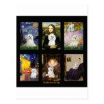 Compuesto maltés del arte famoso tarjeta postal