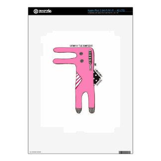 Compulsive Rabbit iPad 3 Skin