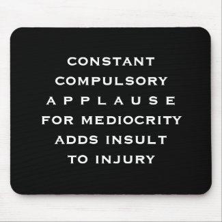 compulsory pad mousepad