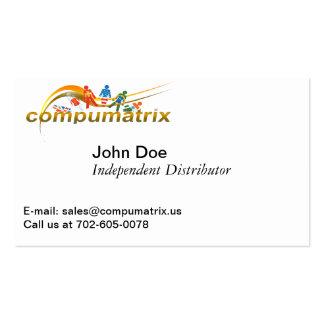 Compumatrix Dual Purpose Business Card