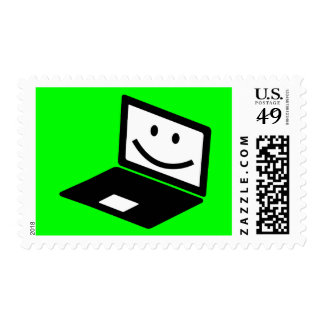 computer-157421  computer laptop notebook smile CU Postage