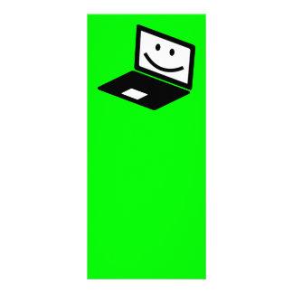 computer-157421  computer laptop notebook smile CU Rack Card