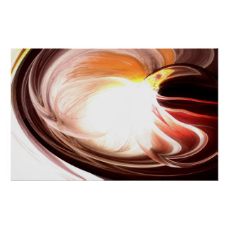 Computer Abstract Painting Print - Digital Artwork
