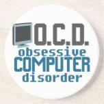 Computer Addict Beverage Coaster