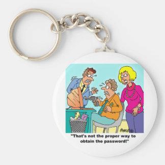 Computer Aficionado Gifts Keychain