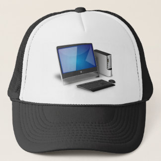 Computer And Monitor Trucker Hat