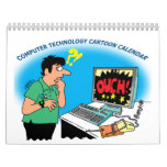 COMPUTER AND TECHNOLOGY CARTOON CALENDAR
