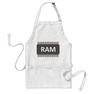 Computer apron