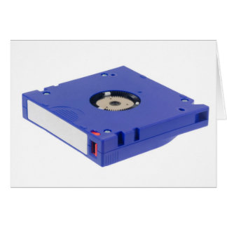 Computer backup tape card