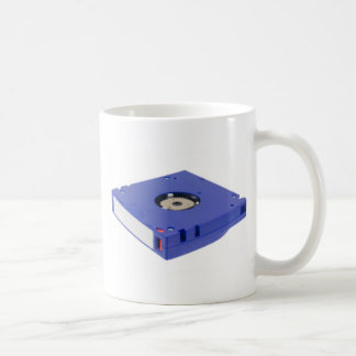 Computer backup tape coffee mug