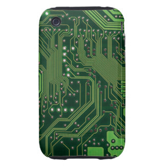 computer board iPhone 3 tough case