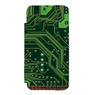 computer board iPhone SE/5/5s wallet case