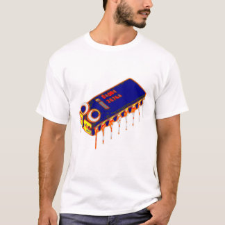 Computer Bug Large Color T-Shirt