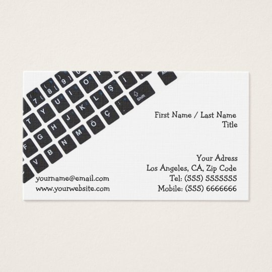 Computer Business Card