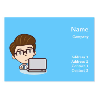 Computer business large business cards (Pack of 100)