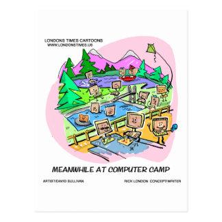 Computer Camp Funny Tees Mugs Gifts Etc. Postcard