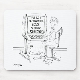Computer Cartoon 1164 Mouse Pad