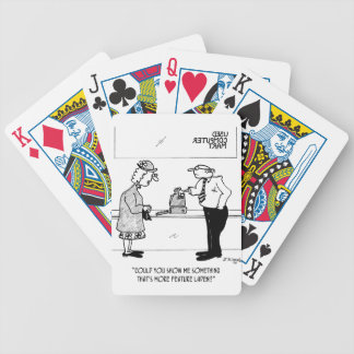 Computer Cartoon 2978 Bicycle Playing Cards