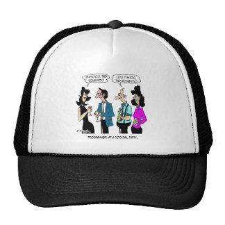 Computer Cartoon 5873 Trucker Hat