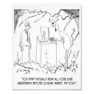 Computer Cartoon 9312 Photo Print