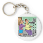 Computer Cartoon Gifts Keychain