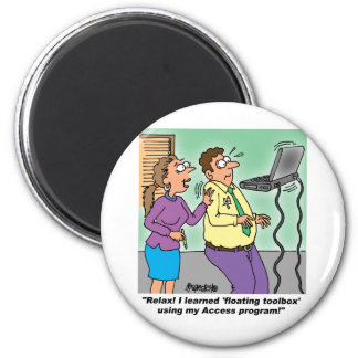 Computer Cartoon Gifts Magnet