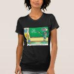 Computer Cartoon Robot in classroom T-Shirt