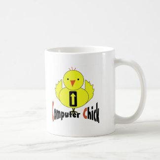 Computer Chick Coffee Mug
