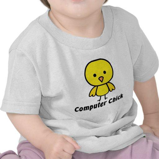 Computer Chick Tee Shirt