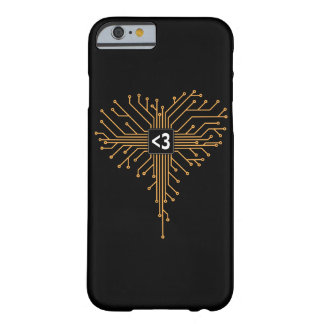 Computer Chip heart Barely There iPhone 6 Case
