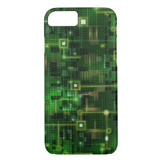Computer Chip Matrix Style iPhone 8/7 Case