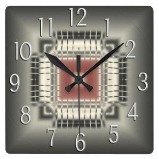 Computer Chip Wall Clock