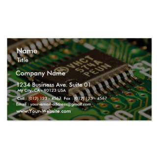 Computer Chips Circuits Boards Double-Sided Standard Business Cards (Pack Of 100)