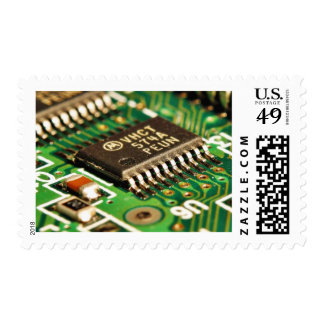 Computer Chips Circuits Boards Postage