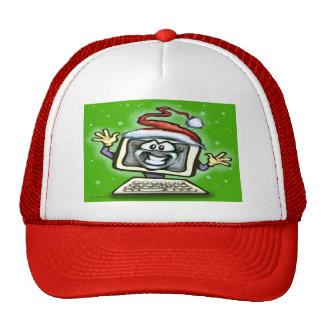 Computer Christmas Trucker Hat